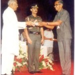 National Award for the best Teacher1989-90 Presented by President Sri R. Venkataraman on 5-9- 1990