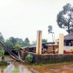 Moodbidri: Temple Tower, Teertha Mantap at Kandir Collapsed Due to Heavy Rains