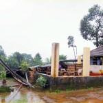 Moodbidri: Temple Tower, Teertha Mantap at Kandir Collapsed Due to Heavy Rains