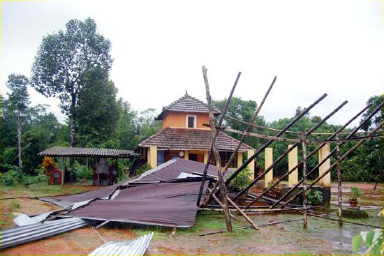 Adi Shakti Durgambika Temple, Mudabidiri
