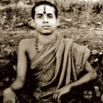 Shri Vishwesha teertha swamiji at the age of 16