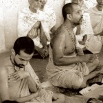 Sri Sri, busy with preacing and teaching with his religious guru