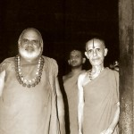 With Sringer Shankaracharya Sri Sri Bharathi Tirtha