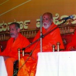 Swamiji with Sri Vijnananidhitirtha Swamiji, Sri Sushamindratitha Swamiji, Sri Suyatindratirtha Swamiji
