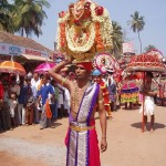 Utsava Moorthi Darshana during Ratharohana