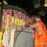 Covering the Mahaganapathi statue with Appam